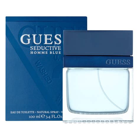 buy seductive homme blue edt 100 ml by guess priceline
