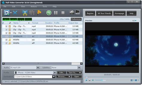 any video dvd converter burner full version free download full video converter convert and edit any video formats