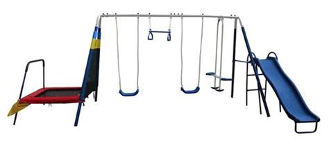 7 station swing set 7 station jump n swing at menards 174
