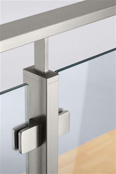 ringhiera in vetro e acciaio preventivo tubo rettangolo inox per ringhiere balaustre