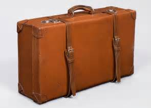 french vintage leather suitcase for sale at 1stdibs
