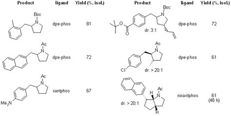 journal of organic chemistry template pyrrolidines