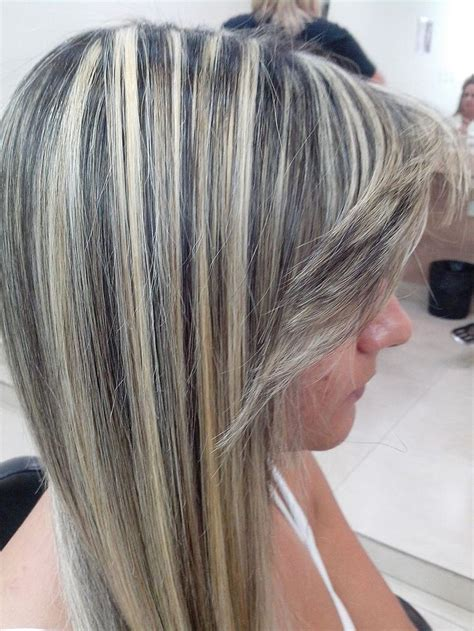 frosted grey hair 500 best highlighted streaked foiled frosted hair 1