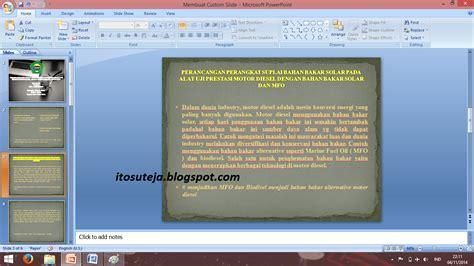 membuat makalah menggunakan power point ito suteja contoh membuat sebuah laporan dengan