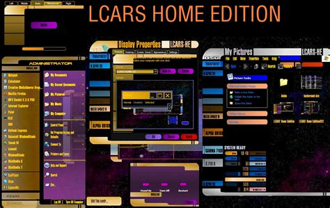 lcars theme for windows 10 wincustomize explore windowblinds lcars home edition