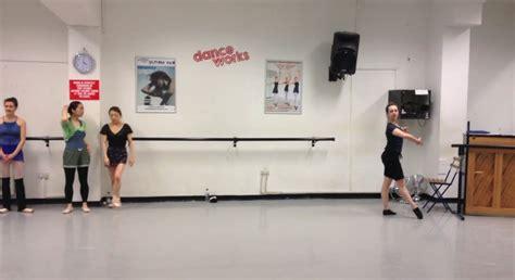 tutorial dance class grands jet 233 s en tournent ballet class tutorial advanced