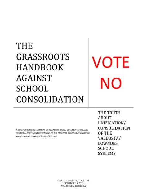 LAKE: Grassroots Handbook Against School Consolidation