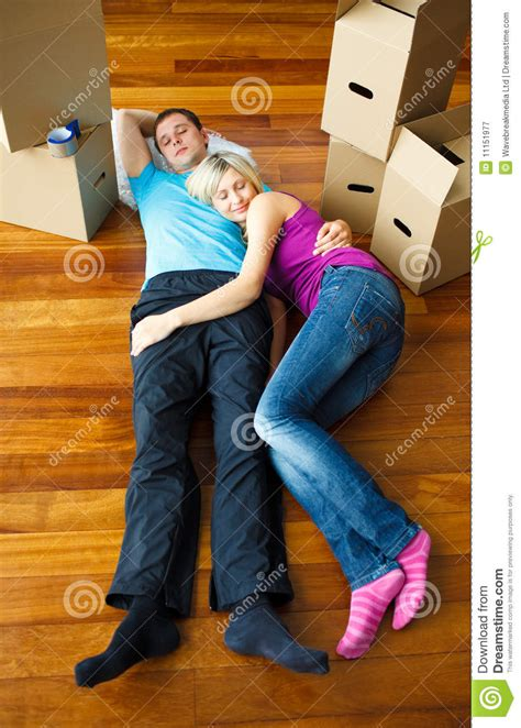 Move Your On The Floor by Sleeping On The Floor Moving House Royalty Free