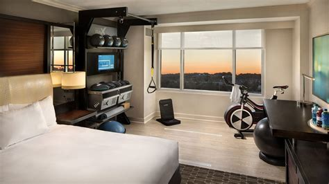 hiltons  fitness friendly rooms   literally