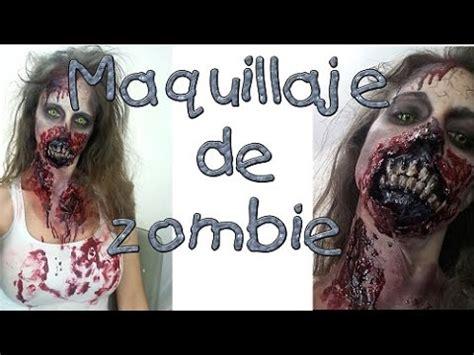 tutorial zombie the walking dead walking dead tutorial maquillaje de zombie o muertos