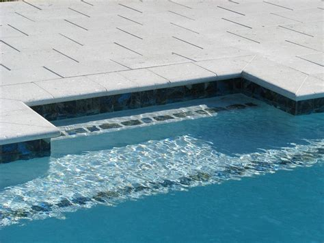 swimming pool bench swim out benches raszl inc palm coast pool and spa