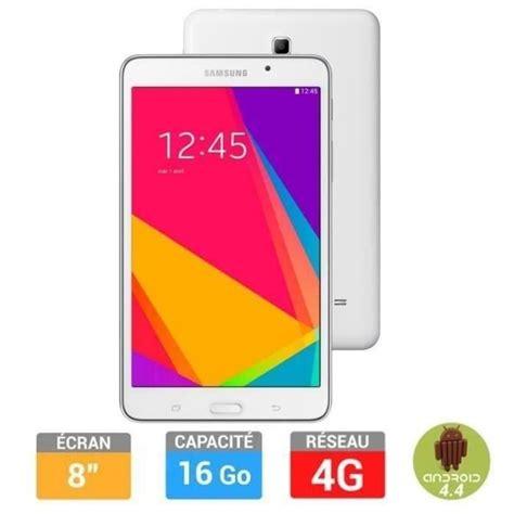 Samsung Tab 4 Termurah samsung galaxy tab 4 7 quot 8go blanche 4g prix pas cher
