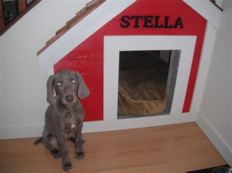 dog house under stairs dog house under the stairs puppy pinterest