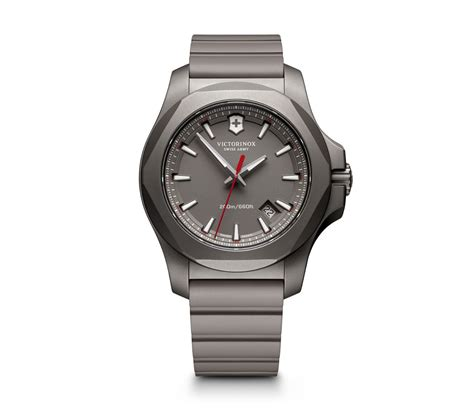victorinox i n o x titanium in gray 43 mm 241757