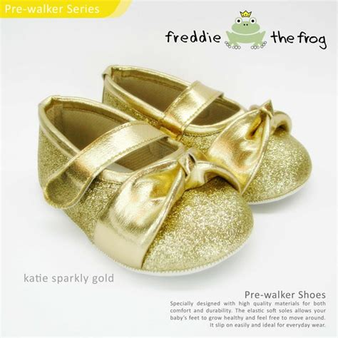 Sepatu Freddie The Frog Gwen Stripe Blue prewalker shoes sandals by freddie the frog jce shop