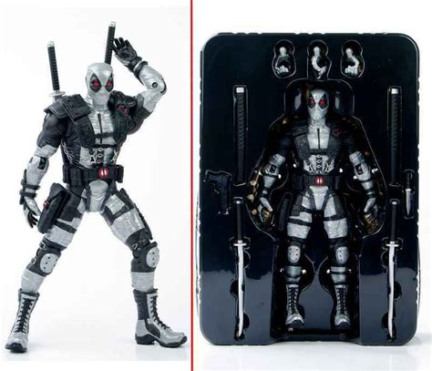 Marvel Legend Deadpool Blue Suit Series 1 aliexpress buy collectible gray deadpool figure model x wolverine figure toys