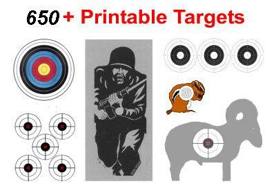 printable shooting targets uk free printable archery targets