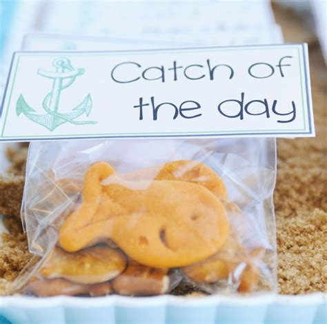 goldfish themes quot out to sea quot nautical baby shower hostess with the