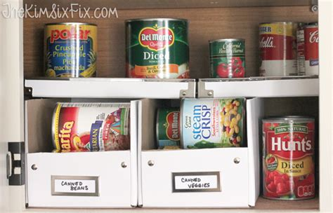 Canned Shelf by 17 Canned Food Storage Ideas To Organize Your Pantry