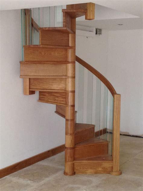 Wood Spiral Staircase Plans Wooden Spiral Staircases Spirals Castings
