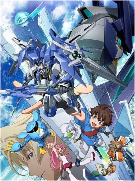 video anime baru 2018 april 2018 anime gundam build divers siap dirilis kaori