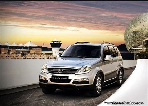 mahindra rexton price in mumbai mahindra launched ssangyong rexton w priced at rs 17 67 lakh