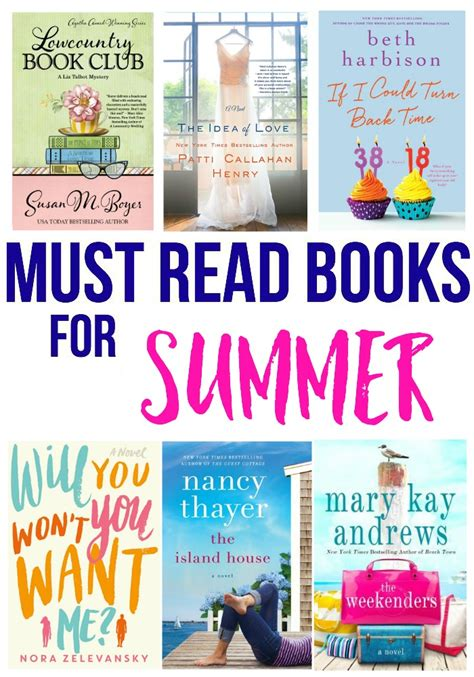7 Must Read Books For by Must Read Books For Summer Bradford
