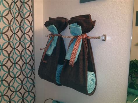 bathroom towel display ideas best 25 decorative bathroom towels ideas on pinterest
