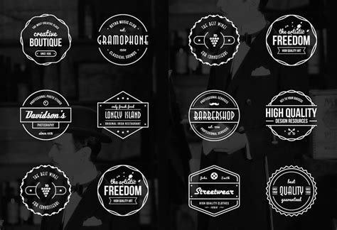 vintage design logo maker 15 free vintage logo template collections