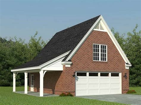 House Plans With Detached Garages by 2 Car Detached Garage Plans With Loft Detached 2 Car