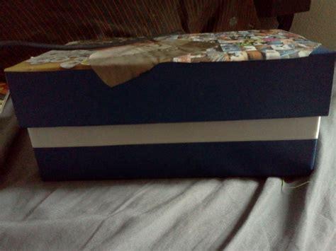 Decoupage Shoebox - shoe box decoupage 183 how to make a decoupage box 183