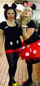 diy mickey and minnie mouse costumes belan pinterest