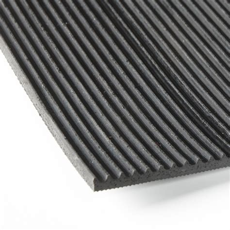 10 By 10 Rubber Mat Roll - industrial striped rubber mat roll