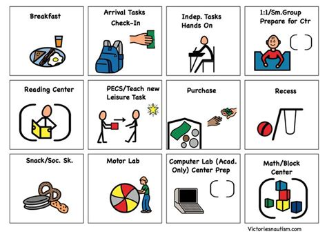 Pecs Cards Template by 170 Best Pecs Autism Images On Autism