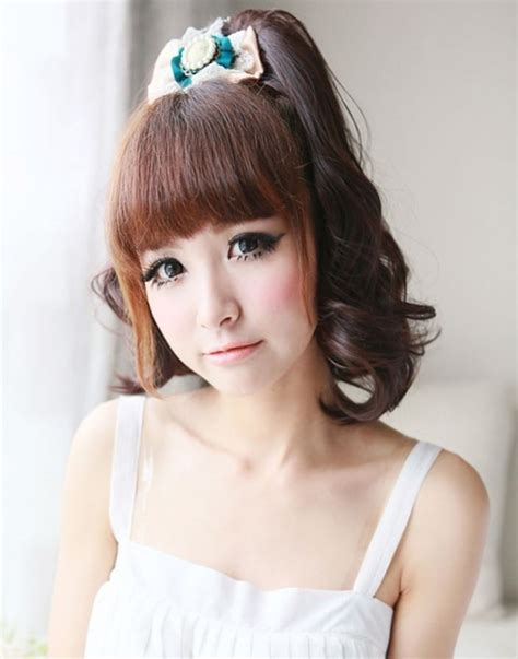 hairstyles with bangs japanese bangs hairstyle asian videos hairy teen