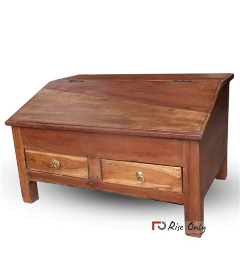 small teak writing desk antique almirah