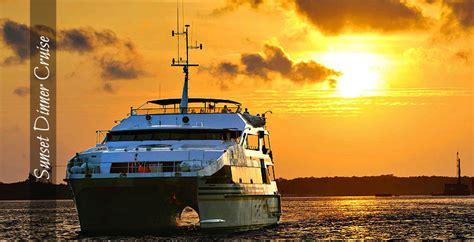 sunset dinner cruises bali tourscom bali tourscom