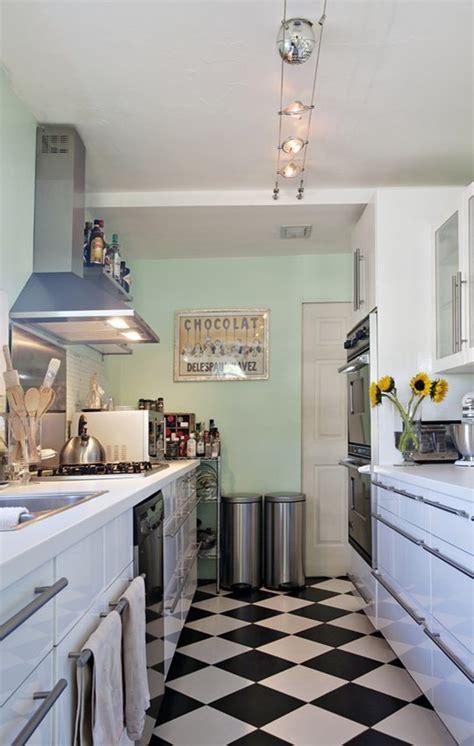 consejos  decorar una cocina pequena alargada