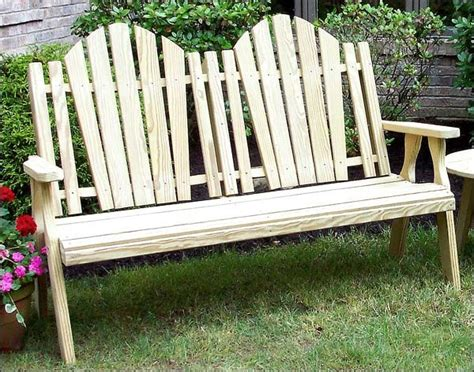 Pine Patio Furniture Treated Pine Curveback Garden Bench Contemporary Patio Furniture And Outdoor Furniture