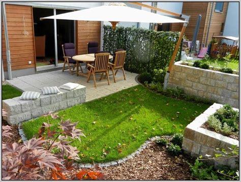 gartengestaltung kleiner garten sichtschutz gartenanlage - Kleine Gärten Anlegen
