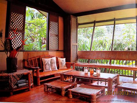 filipino house interior bahay kubo bamboo house design