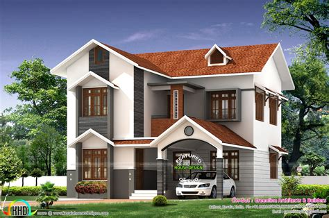 cute houses design simple cute home architecture kerala home design and floor plans