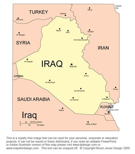 middle east map iraq free middle east and central asia countries printable