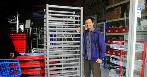 Panggangan Putar rak bakery untuk hasil panggangan roti rak minimarket rak gudang rak toko
