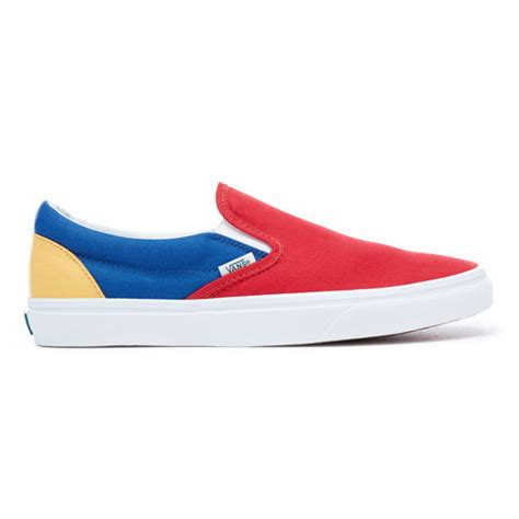 yacht club vans vans yacht club classic slip on shoes multicolour vans