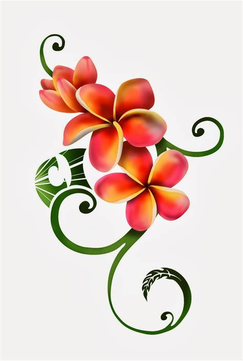 plumeria tattoo plumeria tattoo designs 1