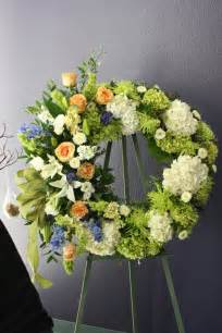 Flowers Arrangements For Funerals - unique sympathy flower arrangements funeral wreath like