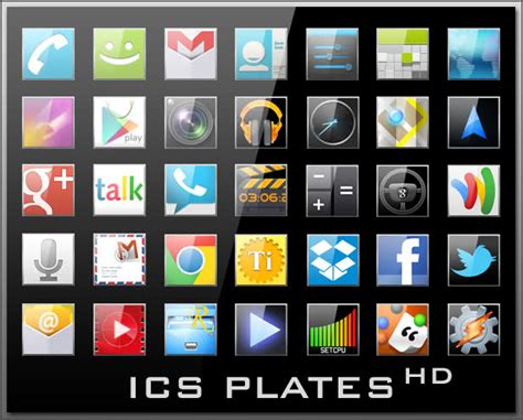 themes zip for android icons zip apk ics plates hd 1 256 icons july 16th