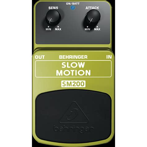 behringer sm200 motion classic attack guitar effects pedal musician s friend