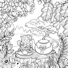 Galerry vintage animal coloring pages